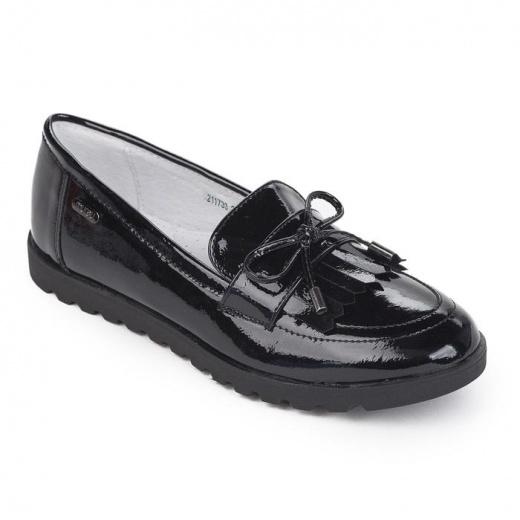 Лоферы детские, цвет чёрный, размер 35