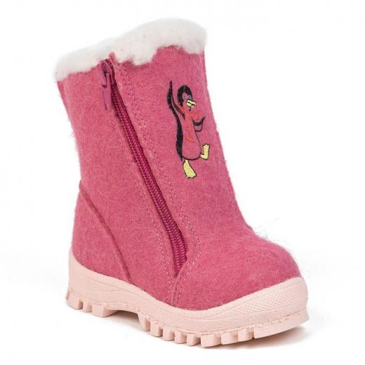 Валенки детские, цвет розовый, размер 23