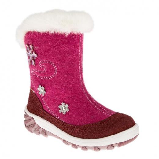 Валенки детские, цвет розовый, размер 27