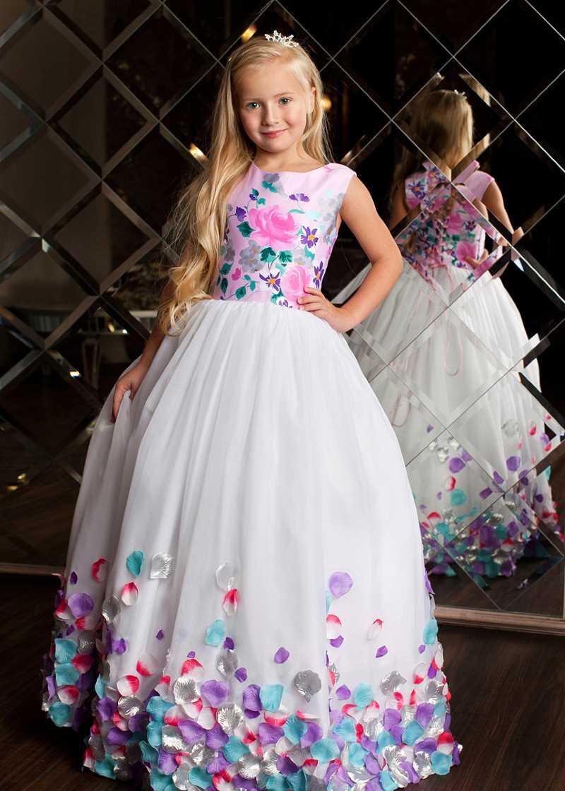 Длинные платья для девочек
