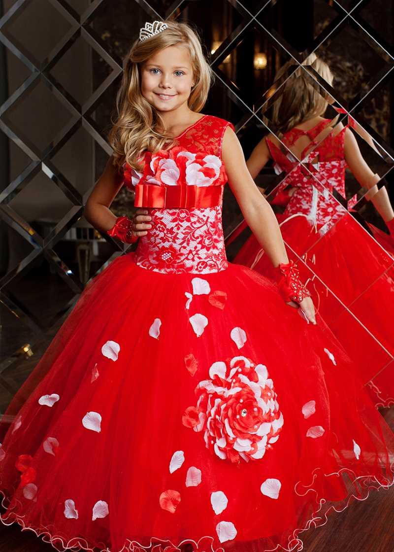 Детские платья на праздник