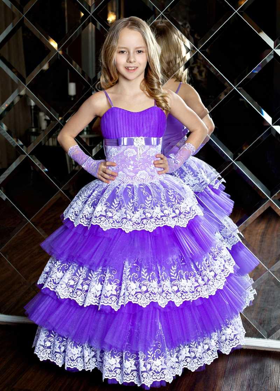 Купить детское платье праздничное