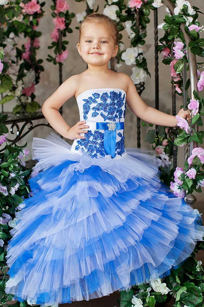 Длинное платье для девочки купить