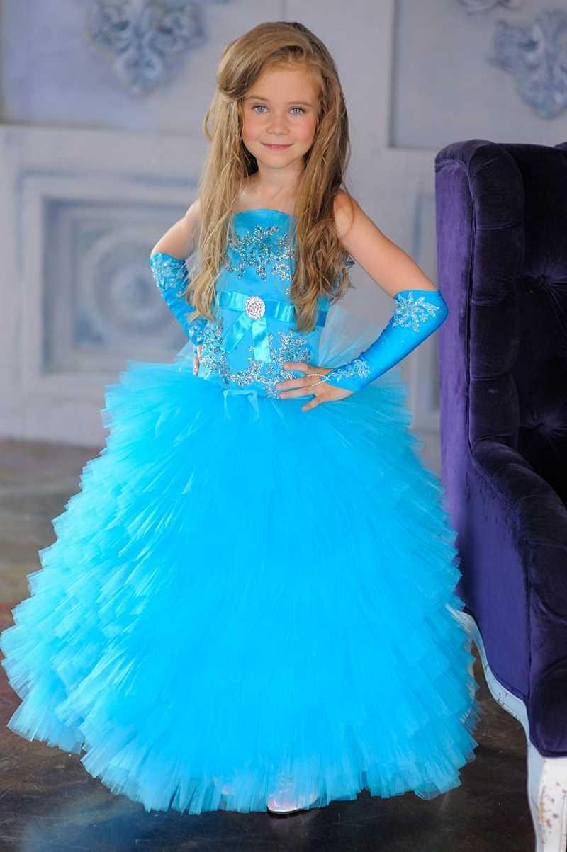 Красивые платья для девочек бальные
