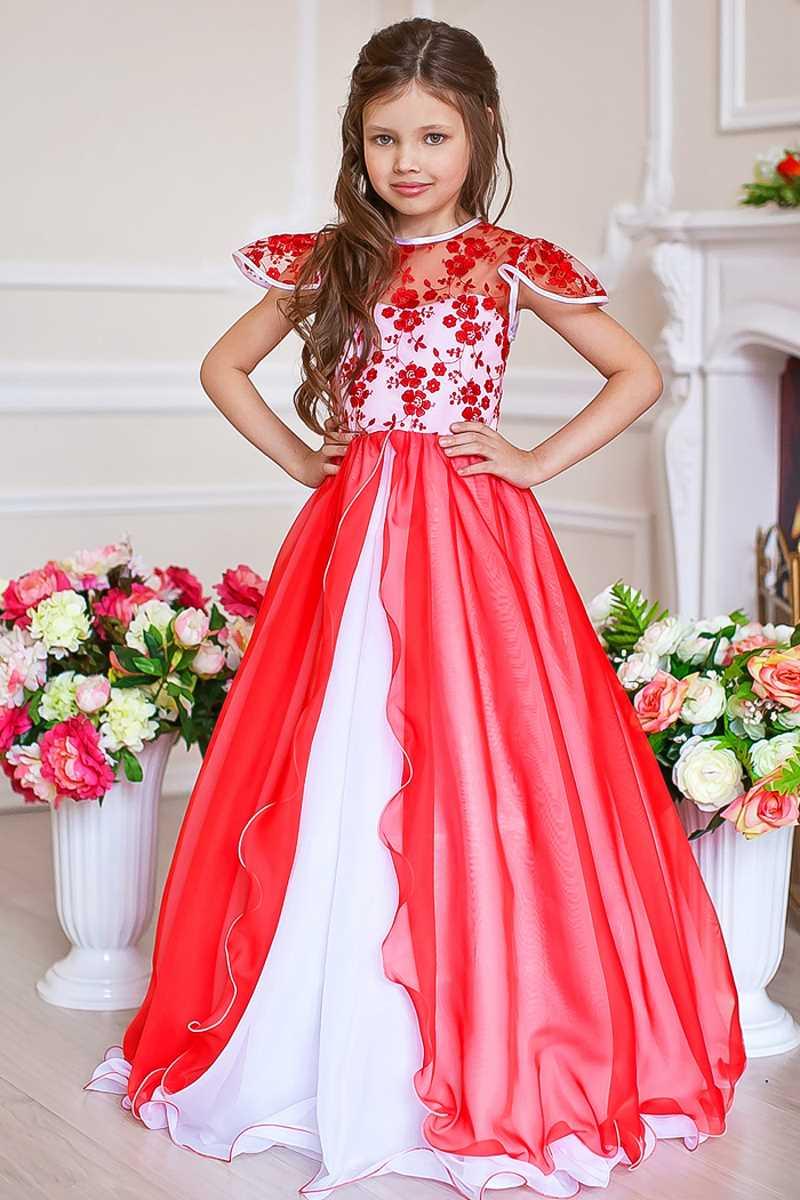 Пышные платья для девочек от производителя